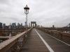 Bllick auf die Brooklyn Bridge