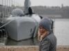 Steffi mit U-Boot