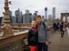 Bllick von der Brooklyn Bridge