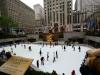 Rockefeller Center Eisbahn